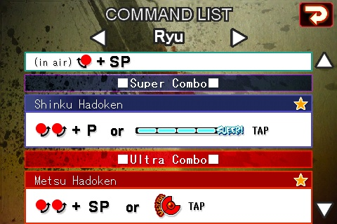 Street Fighter IV Moves