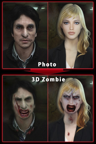 ZombieBooth: Alive in 3D photo