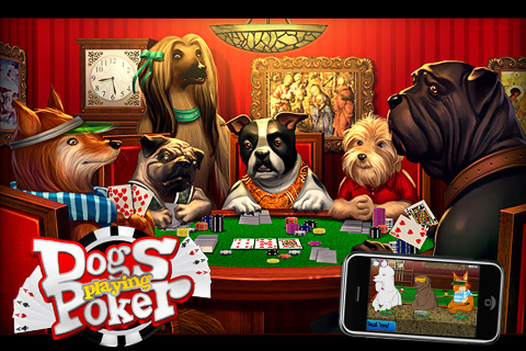 Dogs Playing Cards Wallpaper Dogs Playing Poker