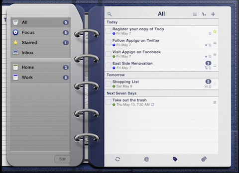 Todo for iPad