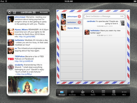 Twittelator for iPad Twitter Client