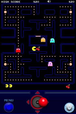 PAC-MAN for iPhone