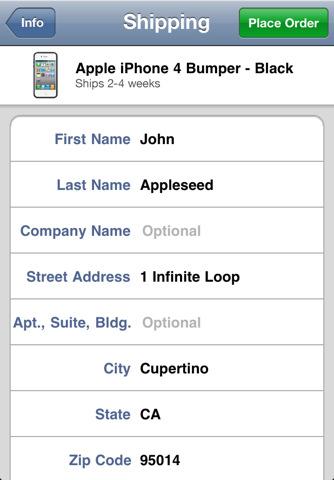 iPhone 4 Case Program