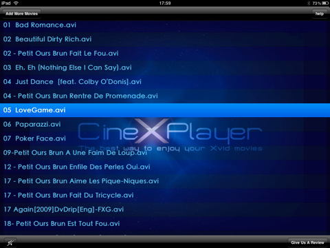 CineXPlayer Xvid Player