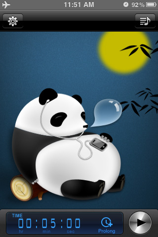 cute wallpapers for ipod touch. The sleeping panda is cute,