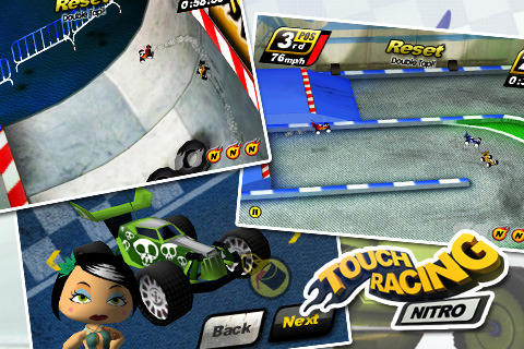 Touch Racing Nitro – Ghost Challenge!