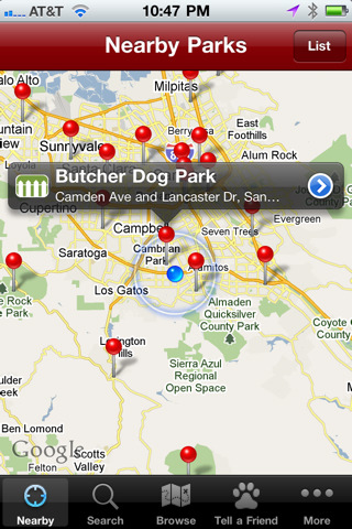 Dog Park Finder Plus
