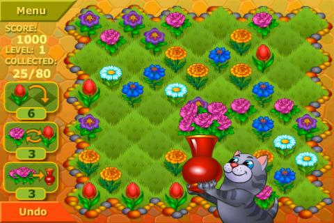 Flower Garden Logical Game
