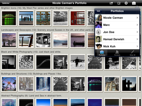 Portfolio to Go for Flickr