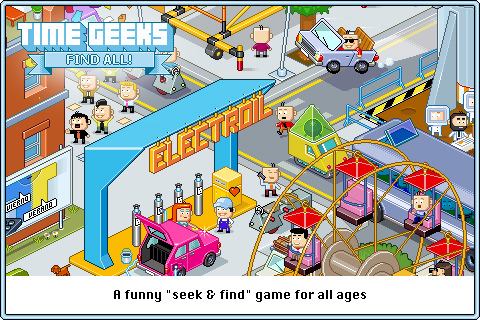 Time Geeks: Find All!