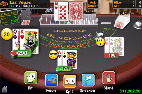 ODDcase Blackjack