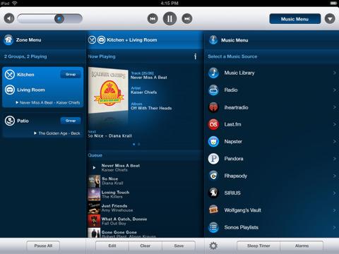 Sonos Controller for iPad
