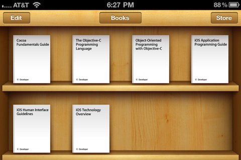 iBooks iOS eBooks