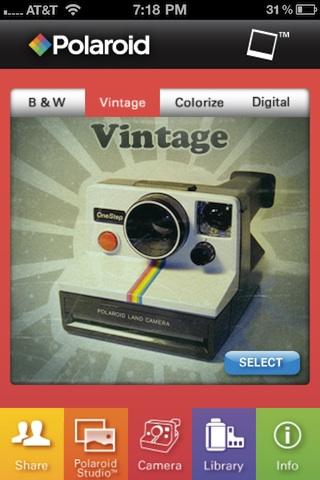 Polaroid Instant Cam