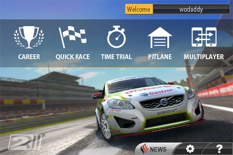 Real Racing 2 Review (iPhone Racing Game) image