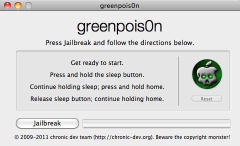 GreenPois0n 1.0 RC5