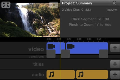 Vimeo iPhone App Video Editor