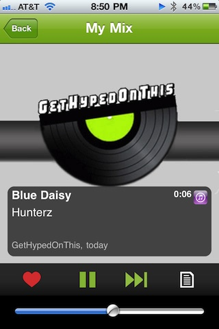 Hype Machine Radio on the iPhone