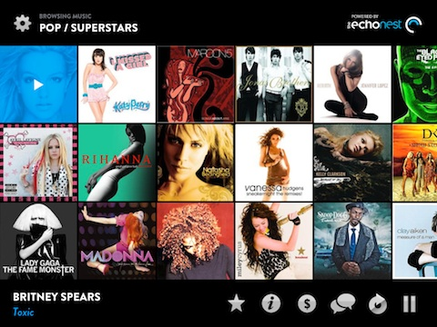 Music Hunter iPad app