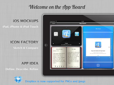 App Cooker - Design, Mockup & Prototype Apps Interfaces