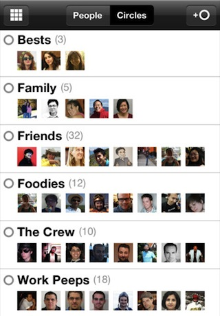 Google+ iPhone app