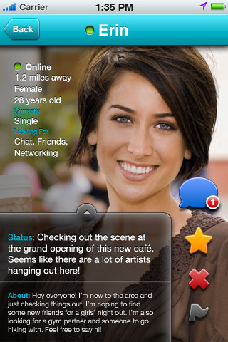 Blendr iPhone app