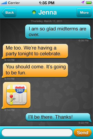 Blendr for iPhone