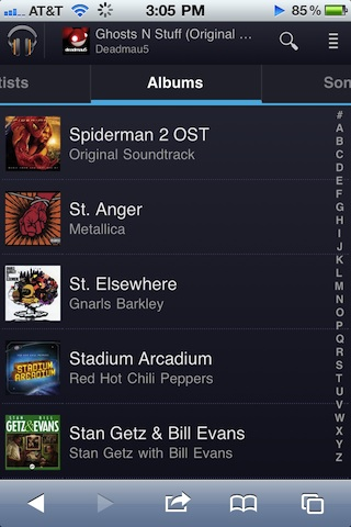 Google Music iPhone app