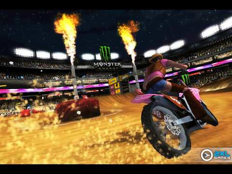 Ricky Carmichael's Motocross Matchup Pro - iPad 2 review