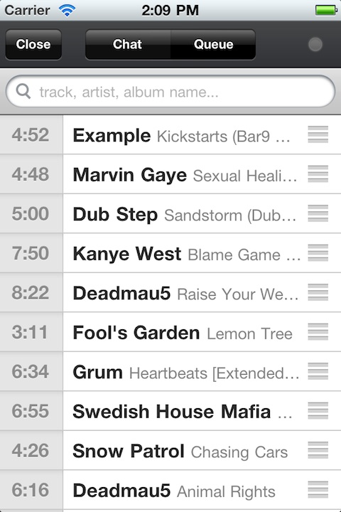 Turntable.fm iPhone app review