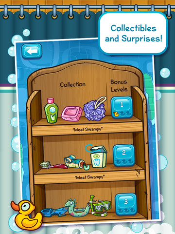 Where's My Water? Universal iPhone and iPad game