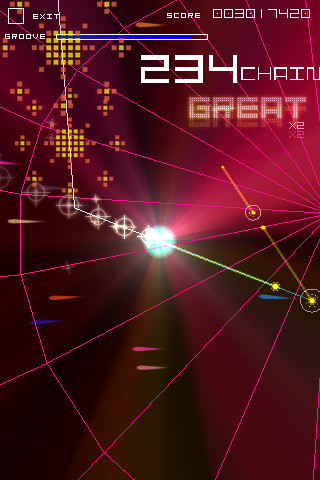 Groove Coaster iPhone game