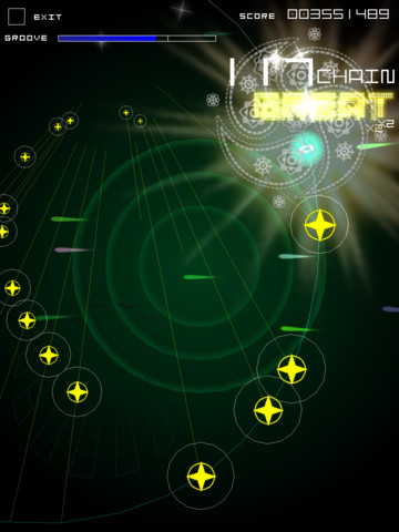 Groove Coaster iPad game