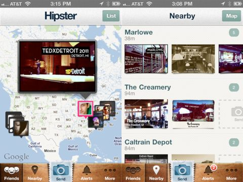 Hipster iPhone app review