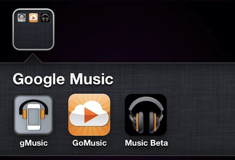 iPhone apps for Google Music