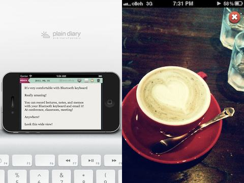 PlainDiary iPhone app review