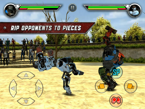 Real Steel iPad app review