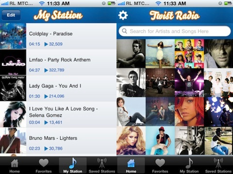 Twist Radio iPhone app review
