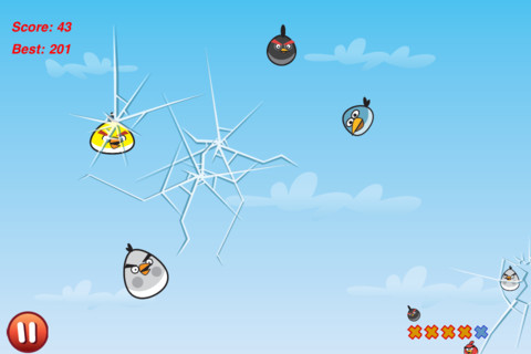 Cut the Birds iPhone app review