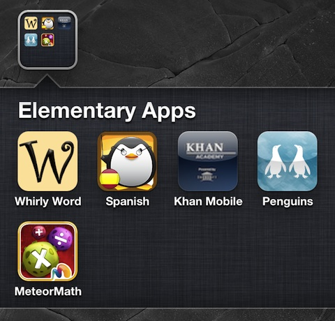 Educational iPhone Apps for Elementary Age Kids
