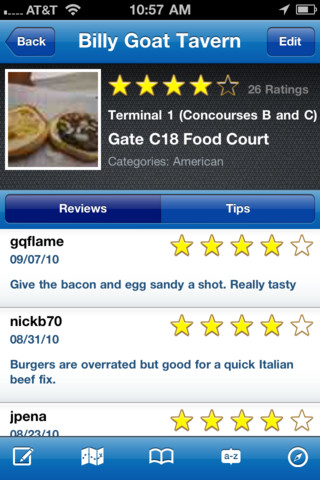 GateGuru - featuring Airport Maps iPhone app review