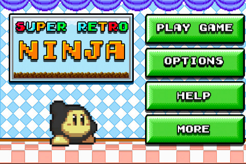 Super Retro Ninja iPhone app review