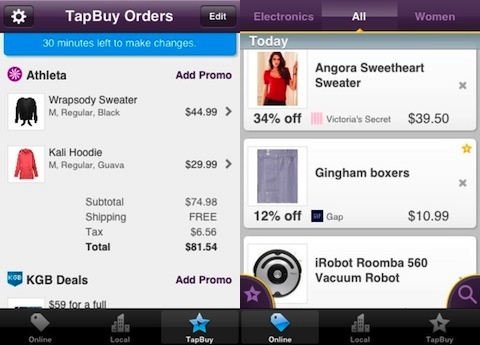 TapBuy Deals iPhone app review