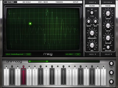 Animoog iPad app review