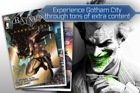 Batman Arkham City Lockdown iPhone app review