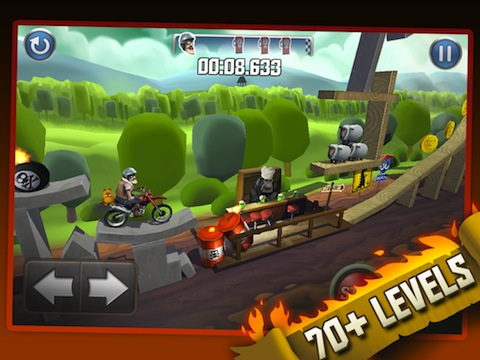 Bike Baron iOS game review