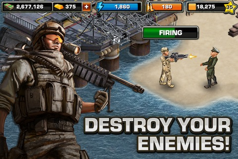 Modern War iPhone game review