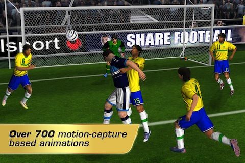 Real Soccer 2012 iPhone game review