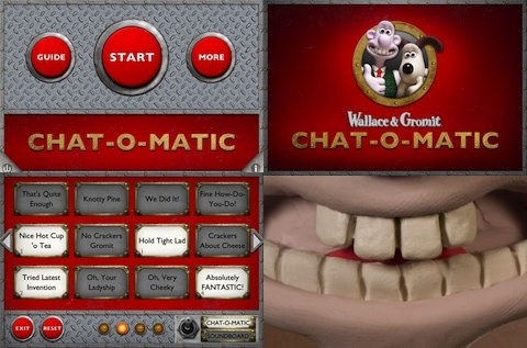 Wallace And Gromit - Chat-O-Matic iPad app review