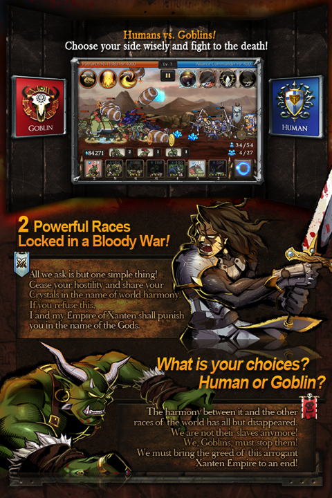 Crystal War Blood Field iPhone game review
